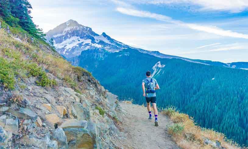 Runner trail