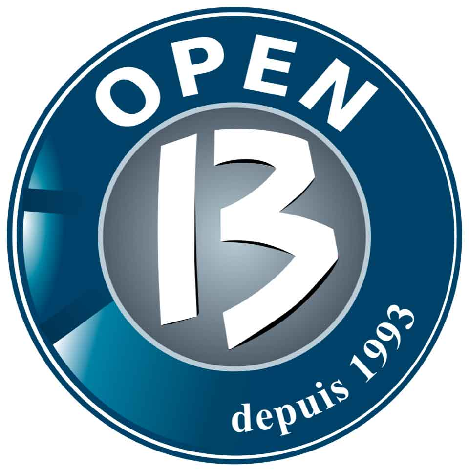 Logo Open 13 tennis Marseille